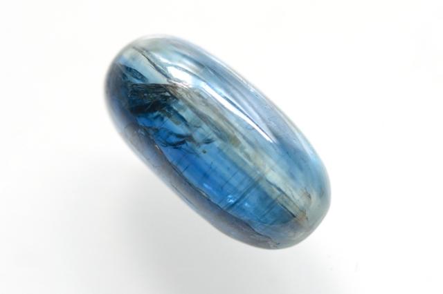 カイヤナイト(アフリカ産)【15】天然石ルース・カボション(20×11mm)