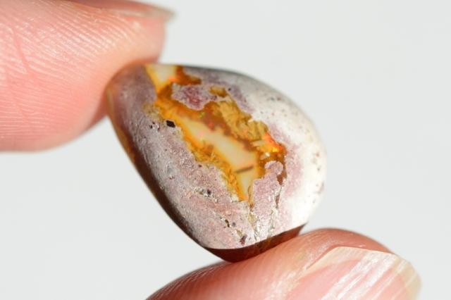 カンテラオパール【12】天然石ルース・カボション(17×13mm)