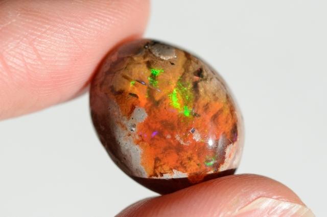 カンテラオパール【13】天然石ルース・カボション(18×14.5mm)