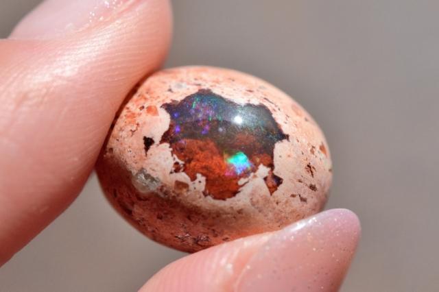 カンテラオパール【28】天然石ルース・カボション(26.5×19mm)