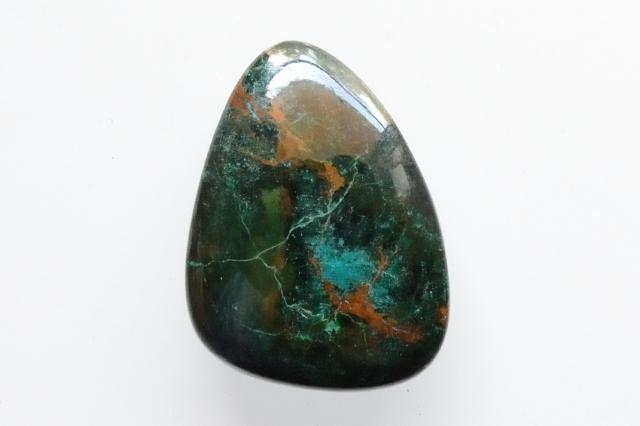 クリソコラ【23】天然石ルース・カボション(30.5×22.5mm)