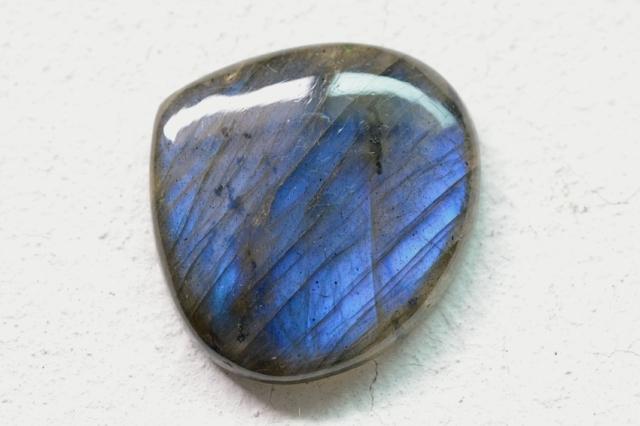 ラブラドライト【79】天然石ルース・カボション(28×30.5mm)