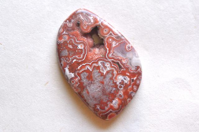 ラグナレースアゲート【12】天然石ルース・カボション(30×20.5mm)