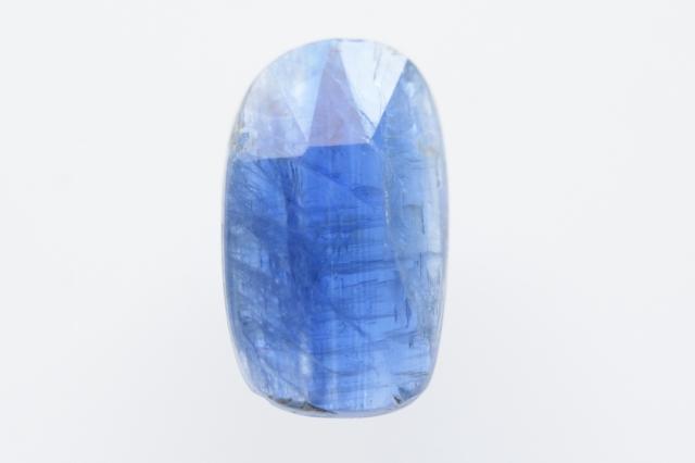 カイヤナイト(ネパール産)【40】 天然石ルース・カボション・ローズカット(13.5×8mm)