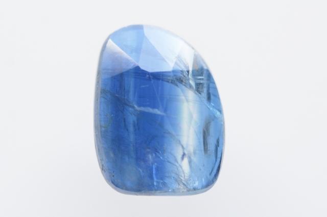 カイヤナイト(ネパール産)【41】 天然石ルース・カボション・ローズカット(11.5×8.5mm)