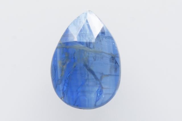カイヤナイト(ネパール産)【42】 天然石ルース・カボション・ローズカット(12.5×9mm)