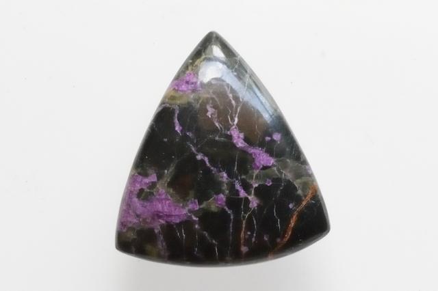 パープライト【18】天然石ルース・カボション (31.5×20.5mm)