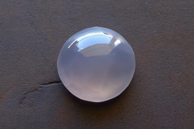 パープルカルセドニー【10】天然石ルース・カボション(19.5×14.5mm)
