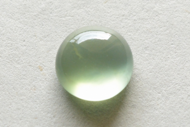 プレナイト【12】天然石ルース・カボション(13×10.5mm)