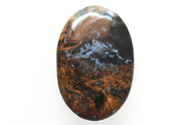 ピーターサイト【1】天然石ルース・カボション(42×22.5mm)