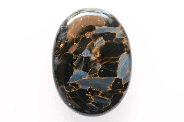 ピーターサイト【2】天然石ルース・カボション(35×30mm)