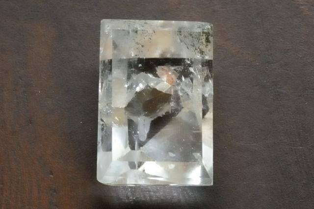 クォーツインクォーツ(貫入水晶)【23】天然石ルース・カボション(×mm)