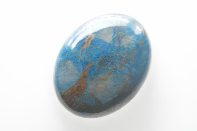 クォンタムクアトロシリカ【4】天然石ルース・カボション(39.5×23mm)