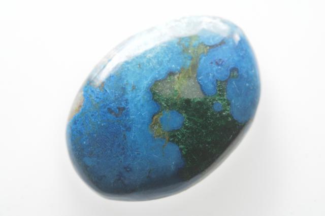 クォンタムクアトロシリカ【11】天然石ルース・カボション(35×20mm)