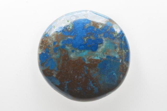クォンタムクアトロシリカ【21】天然石ルース・カボション(39.5×26.5mm)