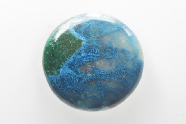 クォンタムクアトロシリカ【22】天然石ルース・カボション(33×22mm)