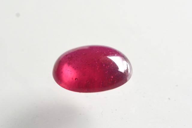 ルビー【15】天然石ルース・カボション(12×10mm)
