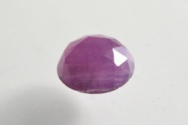 ルビー【22】天然石ルース・カボション(11.5×9.5mm)
