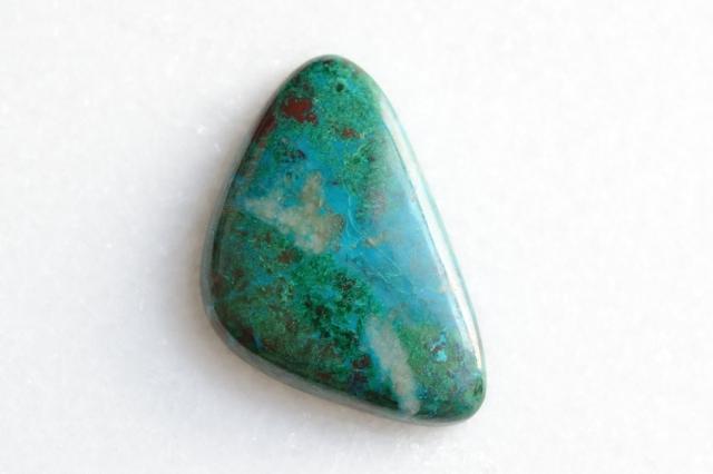 クリソコラ 【4】天然石ルース (37×23.5mm)