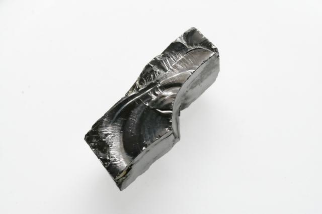シュンガイト【11】天然石 原石(41×16×14.5mm)