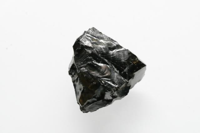シュンガイト【13】天然石 原石(27.5×26.5×17mm)