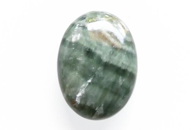 セラフィナイト【22】 天然石ルース・カボション(18.5×13.5mm)