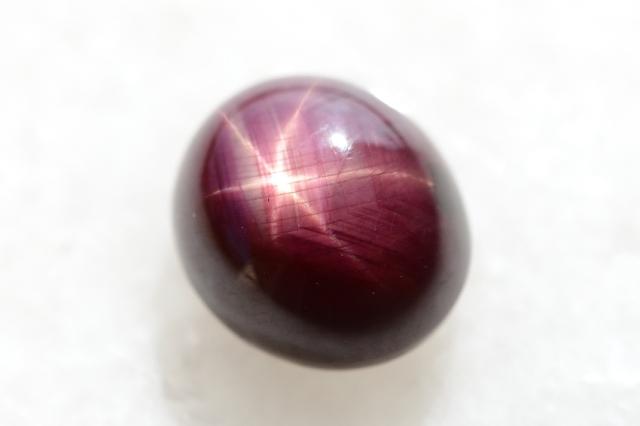スタールビー【17】天然石ルース・カボション(14.5×13mm)