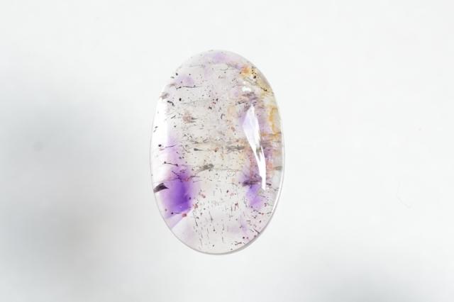 スーパーセブン【5】天然石ルース・カボション(28×18mm)