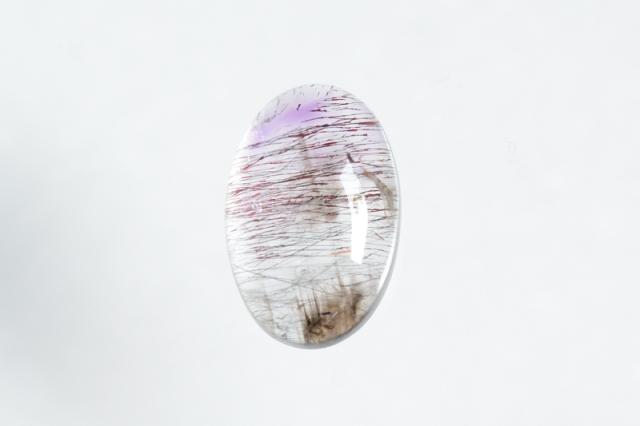 スーパーセブン【8】天然石ルース・カボション(18.5×12mm)