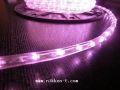 10mm2芯、LEDロープ(チューブ)ライト、20m、ライトピンク