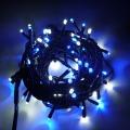 ※電源別売り※ ☆防滴 3芯LED100球ストレート ブルー&ホワイト クロスライセンスLED仕様☆