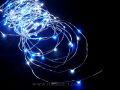 室内用LEDジュエリーライト100球 ホワイト&ブルー