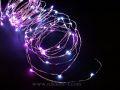 室内用LEDジュエリーライト100球 ホワイト&ピンク