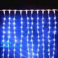 高さ8m!5芯LEDカーテンライト 1000球 ブルー ※取寄せ品