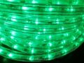 長さ5m 180球 3芯LEDチューブライト グリーン 常点電源コード付