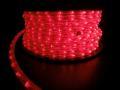 長さ5m 180球 3芯LEDチューブライト レッド 常点電源コード付