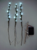 ピックライト3本セット白(電池ボックス付)