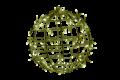 35φ パステルシャンパン常点  LEDフレームボール 小型