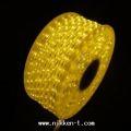 長さ30m 1,080球 3芯LEDチューブライト シャンパンゴールド 常点電源コード3本付き