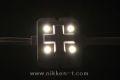LEDモジュール、SMD5050型、4球x30モジュール、電球色、電源別売り