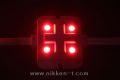 LEDモジュール、SMD5050型、4球x30モジュール、レッド、電源別売り