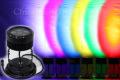 LEDウオールウオッシャー(PARライト)、6灯、RGB、DC24V, 18W IP65 ※電源、コントローラ別売り