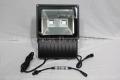 DMX対応 COB型RGB LEDウオールウオッシャー R2.1、矩形、黒筐体、AC100V、2灯、120W IP65 ※アドレスセッター別売り
