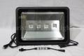 DMX対応 COB型RGB LEDウオールウオッシャー R2.1、矩形、黒筐体、AC100V、4灯、200W IP65 ※アドレスセッター別売り