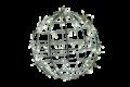 35φ ホワイト常点  LEDフレームボール 小型