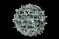 65φ ホワイト常点  LEDフレームボール 大型