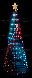 LEDエレクトリカルコーンツリー 150cm リモコン付 ※10月25日頃 入荷予定
