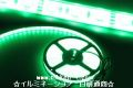 LEDテープライト、SMD5050型、グリーン、300球、5m、電源別売り