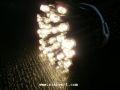 ☆防滴・常時点灯 2芯LED100球ストレート ハニーキャンドル クロスライセンスLED仕様☆