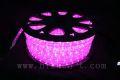 13mm2芯、LEDロープ(チューブ)ライト、ピンク、50m